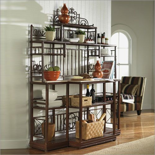 Patio Bakers Rack Bago Luma Large French Baker S Rack On Bakers