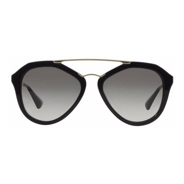 Prada PR 12QS 8053672160789 (1.165 BRL) ❤ liked on Polyvore featuring accessories, eyewear, sunglasses, glasses, glasses/sunglasses, prada eyewear, prada, prada glasses and prada sunglasses