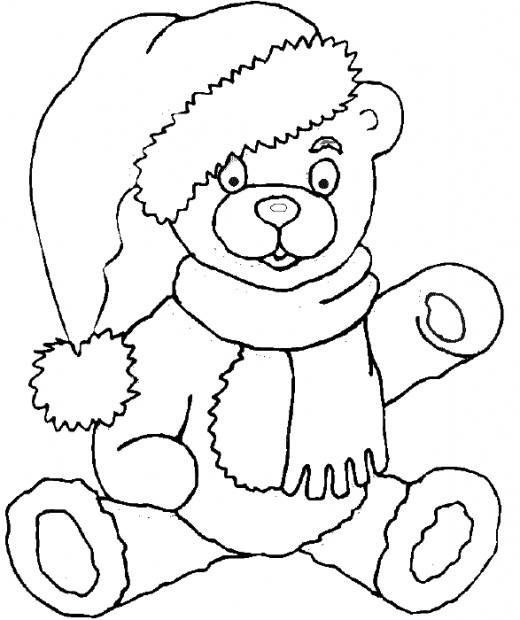 Teddy Bear Coloring Page Teddy Bear Coloring Pages Christmas Coloring Pages Bear Coloring Pages