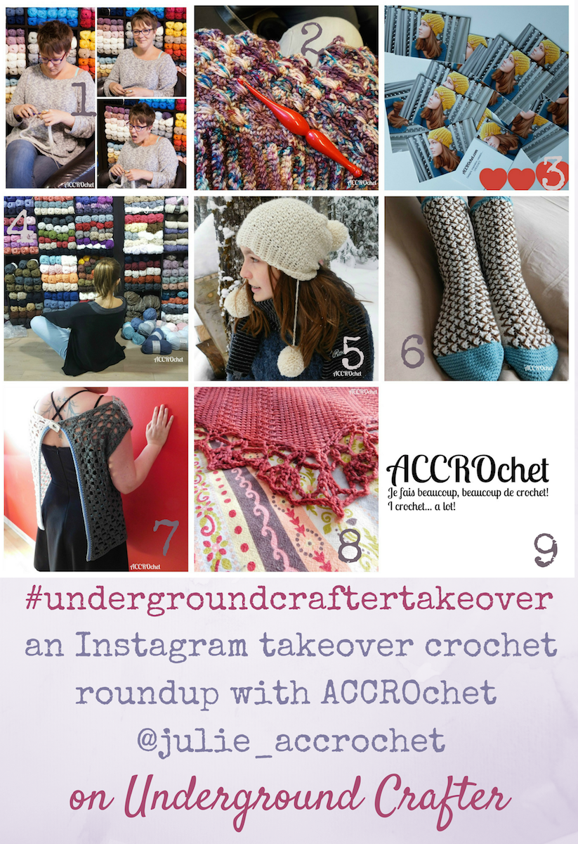 An Instagram Takeover crochet roundup with ACCROchet ...