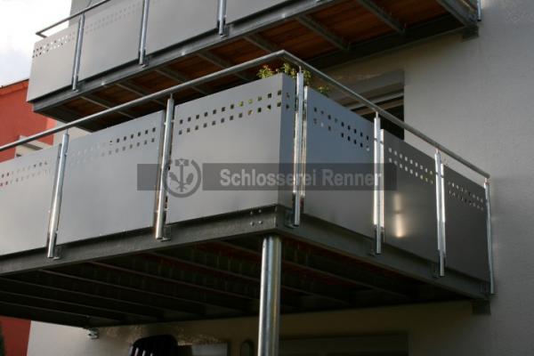 balkongel nder schlosserei renner garten pinterest schlosserei balkongel nder und balkon. Black Bedroom Furniture Sets. Home Design Ideas