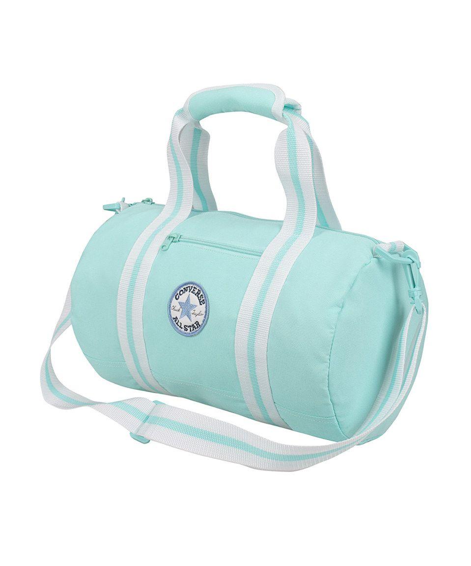 62da8b37dcc Loving this Converse Aqua Chuck Patch Tube Duffel Bag on  zulily!   zulilyfinds
