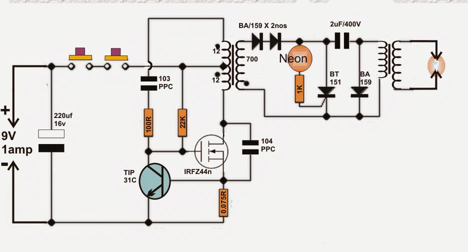 Pin on stun Wiring Diagram For Bug Zapper on heater wiring, dishwasher wiring, air conditioner wiring, fly zapper wiring, microwave wiring, lawn mower wiring, refrigerator wiring, light fixture wiring, power supply wiring, power cord wiring,