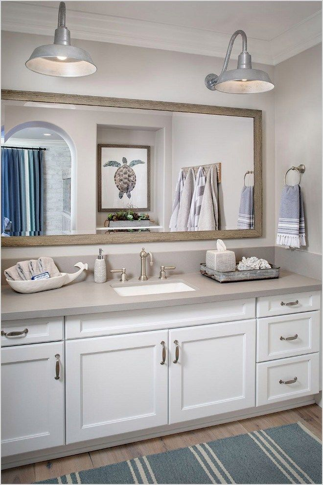 Modern nautical bathroom beautiful farmhouse interior designs the home designer co also rh pinterest
