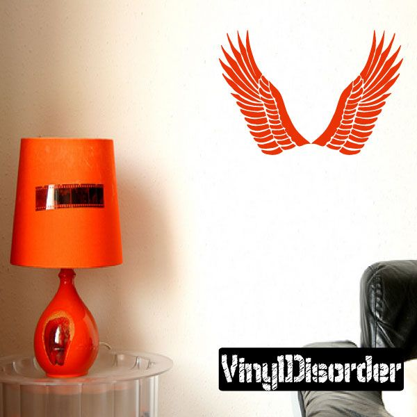 Eagle Wings Wall Decal - Vinyl Decal - Car Decal - CF197
