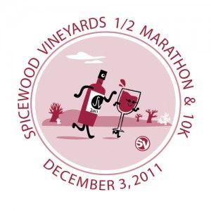 Spicewood Vineyards 1/2 Marathon and 10K - 12/1/2012