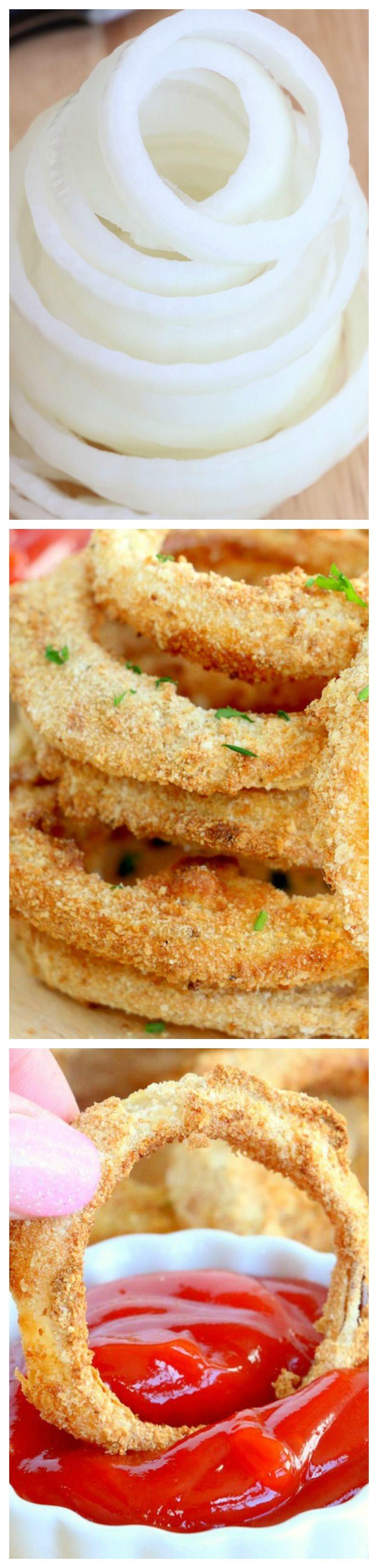 Air Fryer Onion Rings Recipe Yummy food, Onion rings