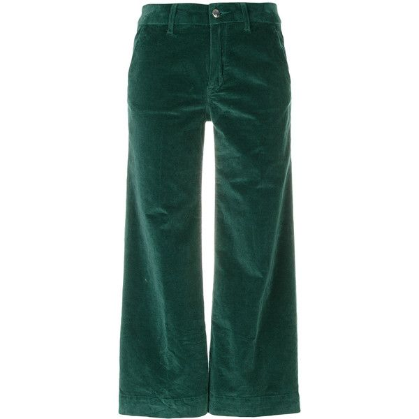 2e008abbf465 The Seafarer cropped corduroy trousers ( 321) ❤ liked on Polyvore featuring  pants