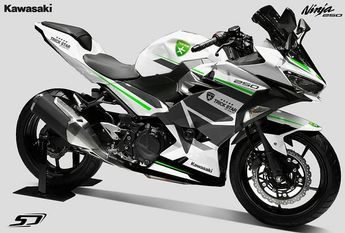 All New Ninja 250 2018 Design Striping By Simondesigns Thisiskawasaki Kawasaki