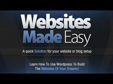Wordpress Tutorial Properly Make A Website With Wordpress Step By Step Video Training Create Website Small Business Website Design Ecommerce Website Design