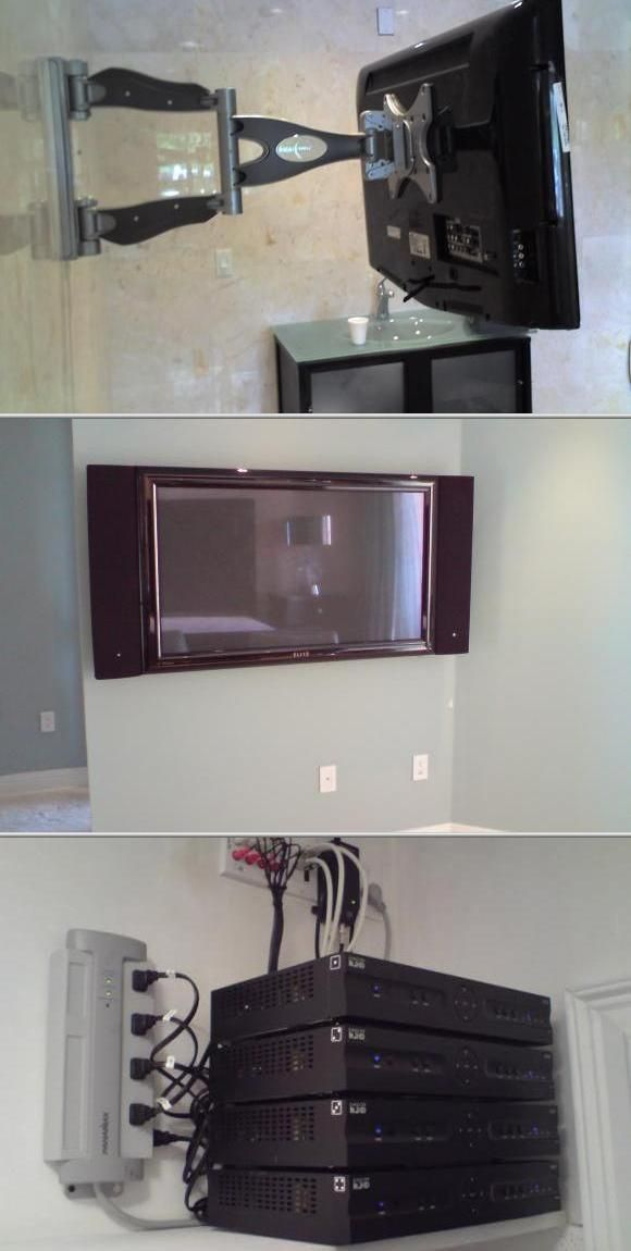 Stupendous They Are A Tv Installation Company Concealing Electrician Wiring Wiring 101 Tzicihahutechinfo