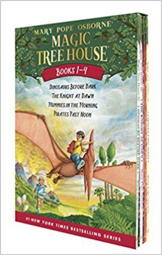 PDF DOWNLOAD] Magic Tree House Boxed Set, Books 1-4