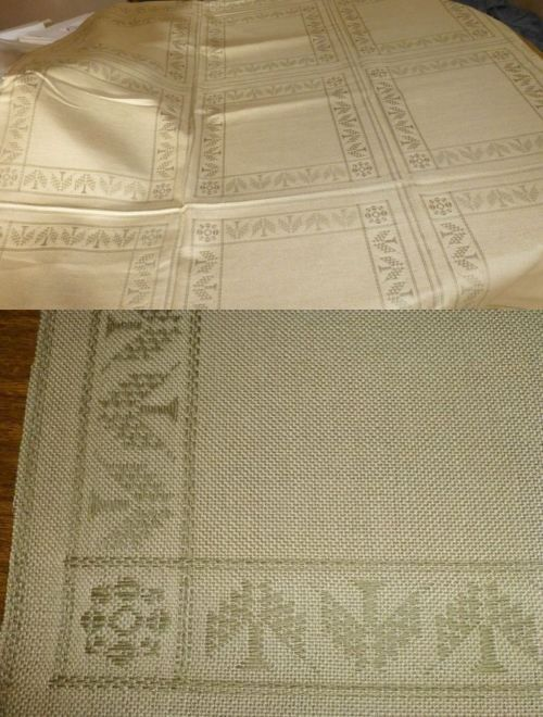 Embroidery Cloth Fabric 183196 18 Count Proud Pine Afghan Cross