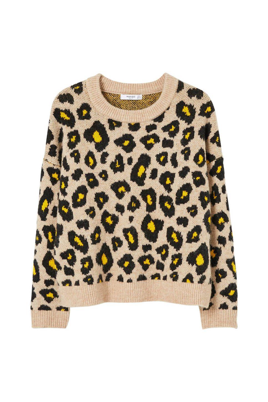 379437daada2ae Mango gebreide trui met luipaardprint  wehkamp  luipaardprint  panterprint   print  dierprint