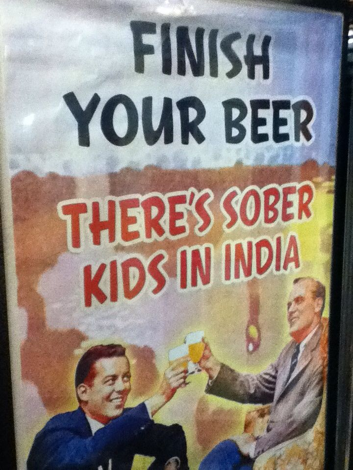 Finish that beer!