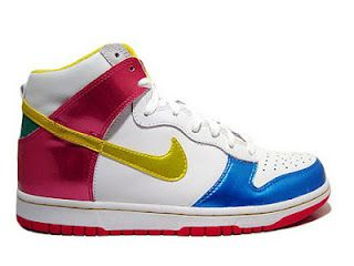 sneakers for cheap 0ebb1 e526c Nike Dunks Olympic Game Shoes Colorful High