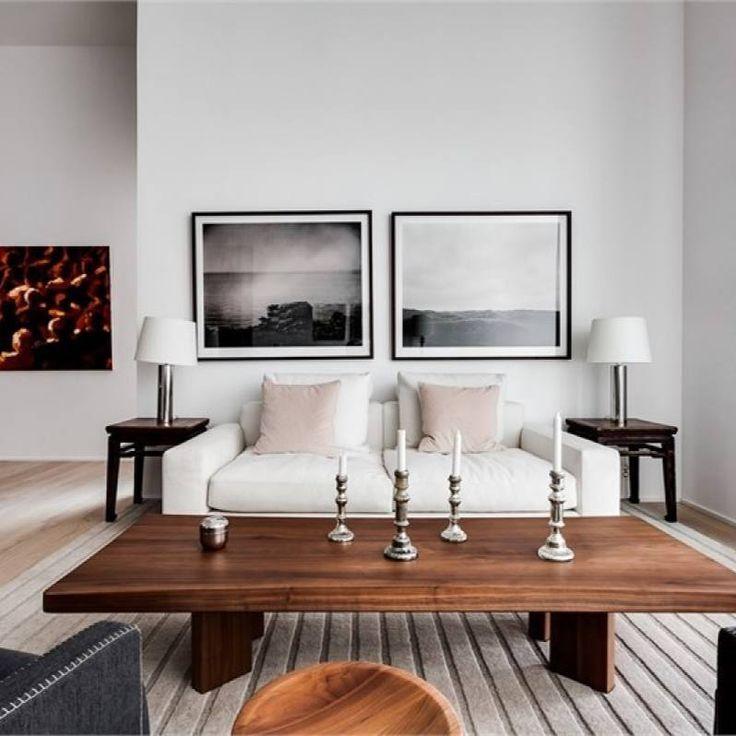 Minimalist Modern Spanish Living Room