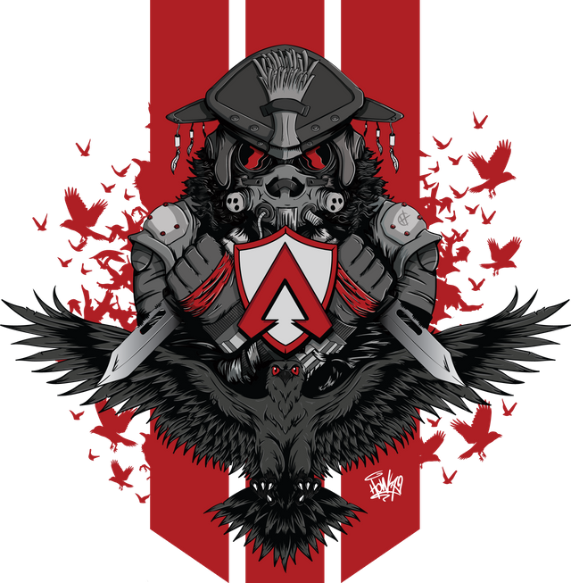 Bloodhound Illustration From Apex Legends By Imhowlauk Bloodhound Apex Legend