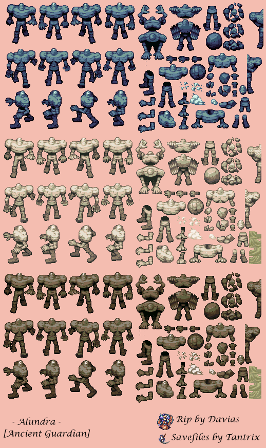 Ancient Guardian | Sprite sheets | Pixel art games, Pixel