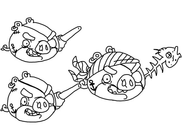 Pin By Bulkcolor On Angry Bird Pigs Coloring Pages Bird Coloring Pages Pirate Coloring Pages Angry Birds Pigs