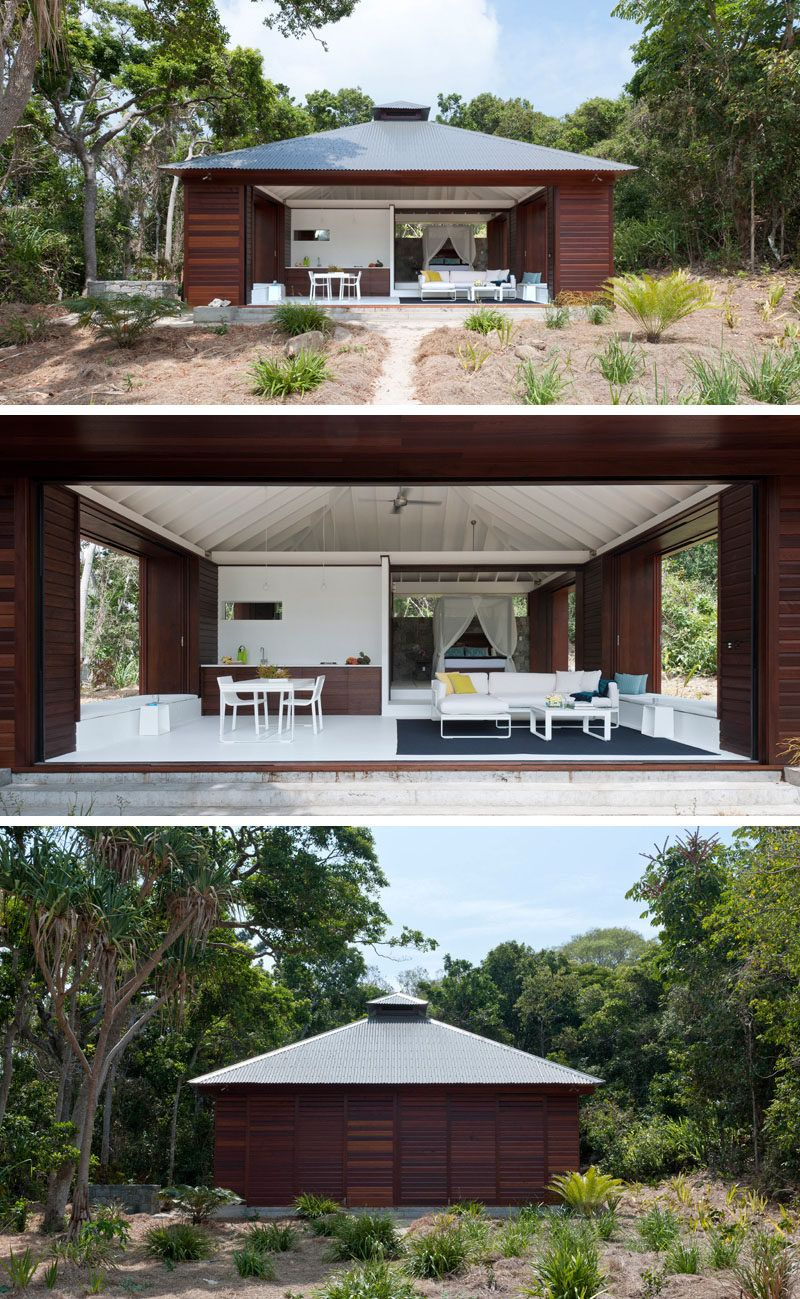 14 Examples Of Modern Beach Houses This Australian House Opens On All Sides