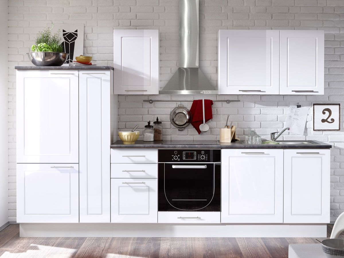 SOFIE Küchenblock weiß modern und hochwertig