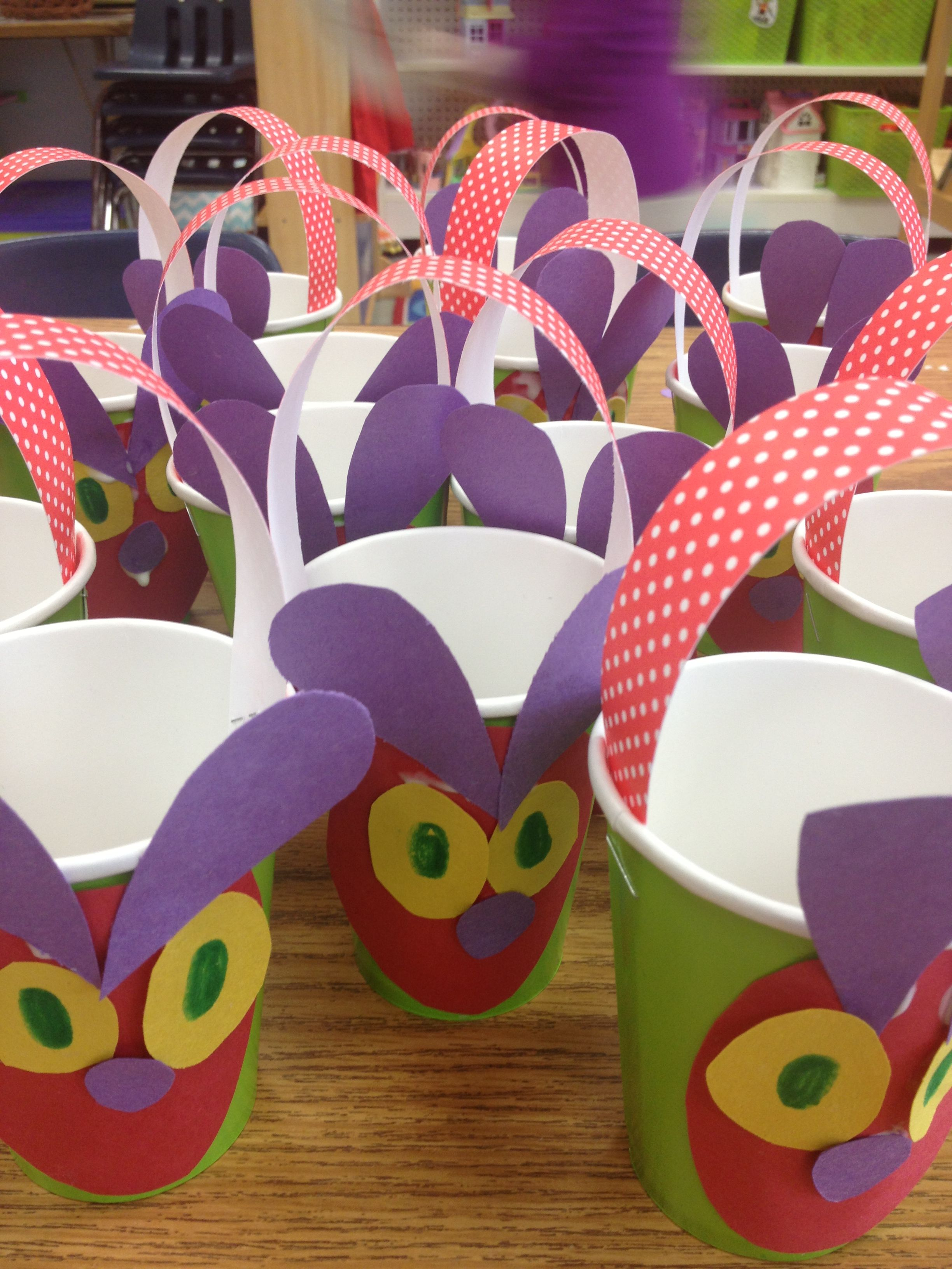 Very Hungry Caterpillar May Baskets
