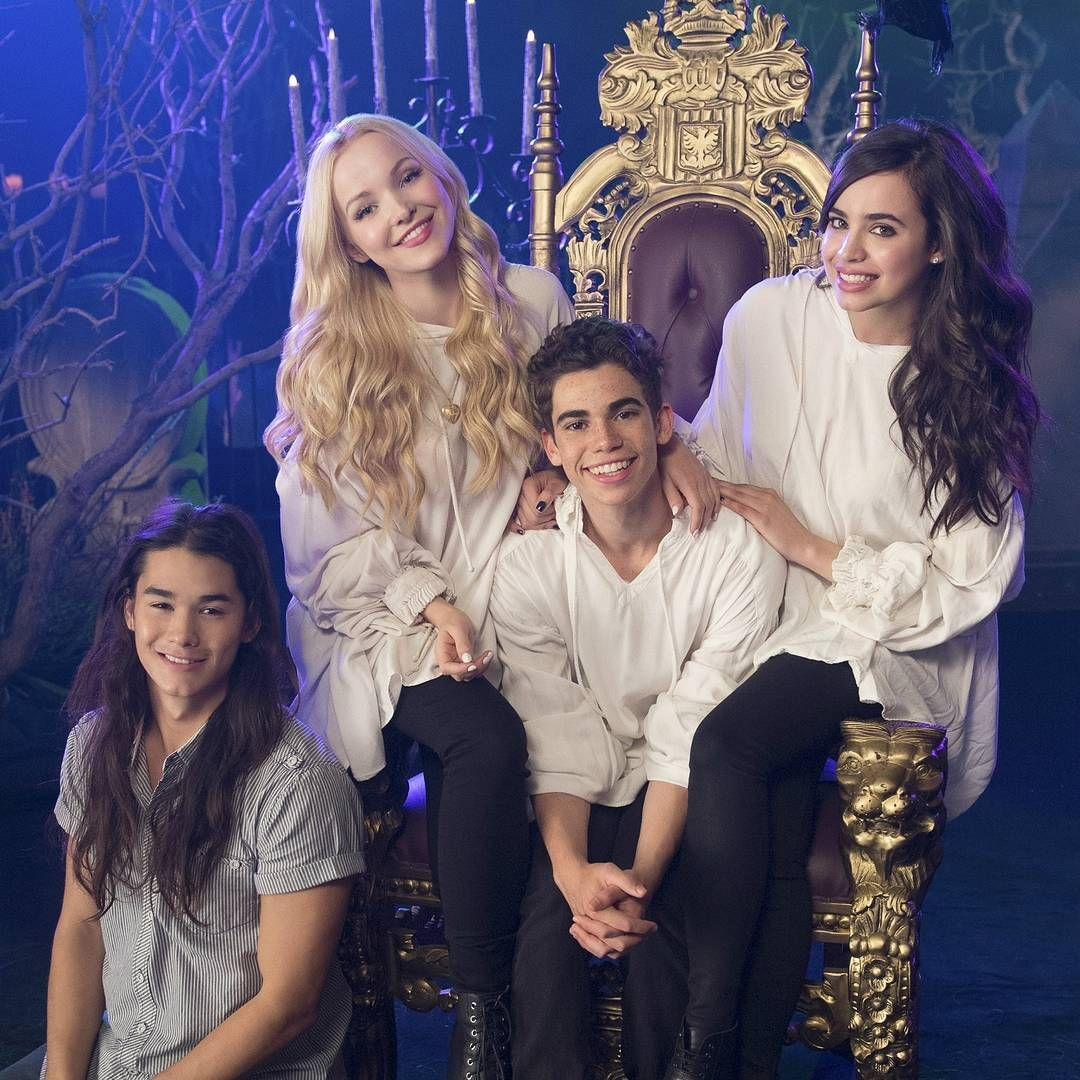 "Descendants 3 on Instagram: ""It's finally #Monstober, so you know we had to post this throwback to last year!"" #descendants3"