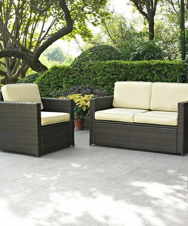 Look at this #zulilyfind! Palm Harbor Three-Piece Seating Set ...