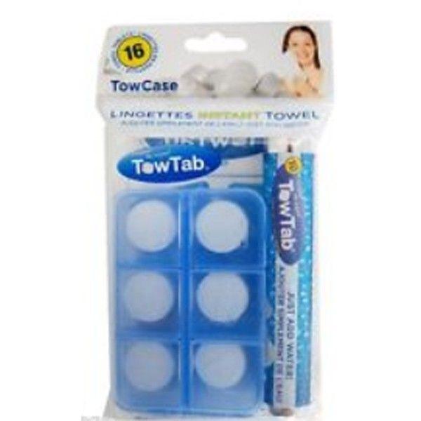 TowTab - lingettes instant avec boitier - Boutique CAA Québec