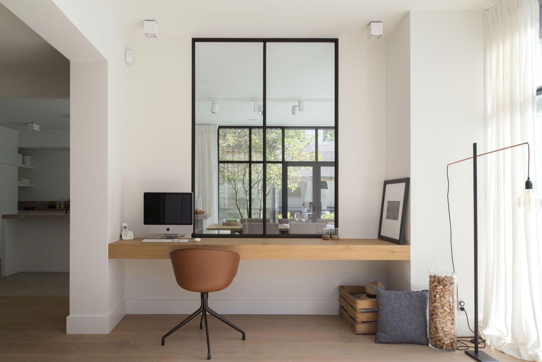 8x Minimalistische Werkplek : Renovatie oscar v nieuw thuis werkplek compact