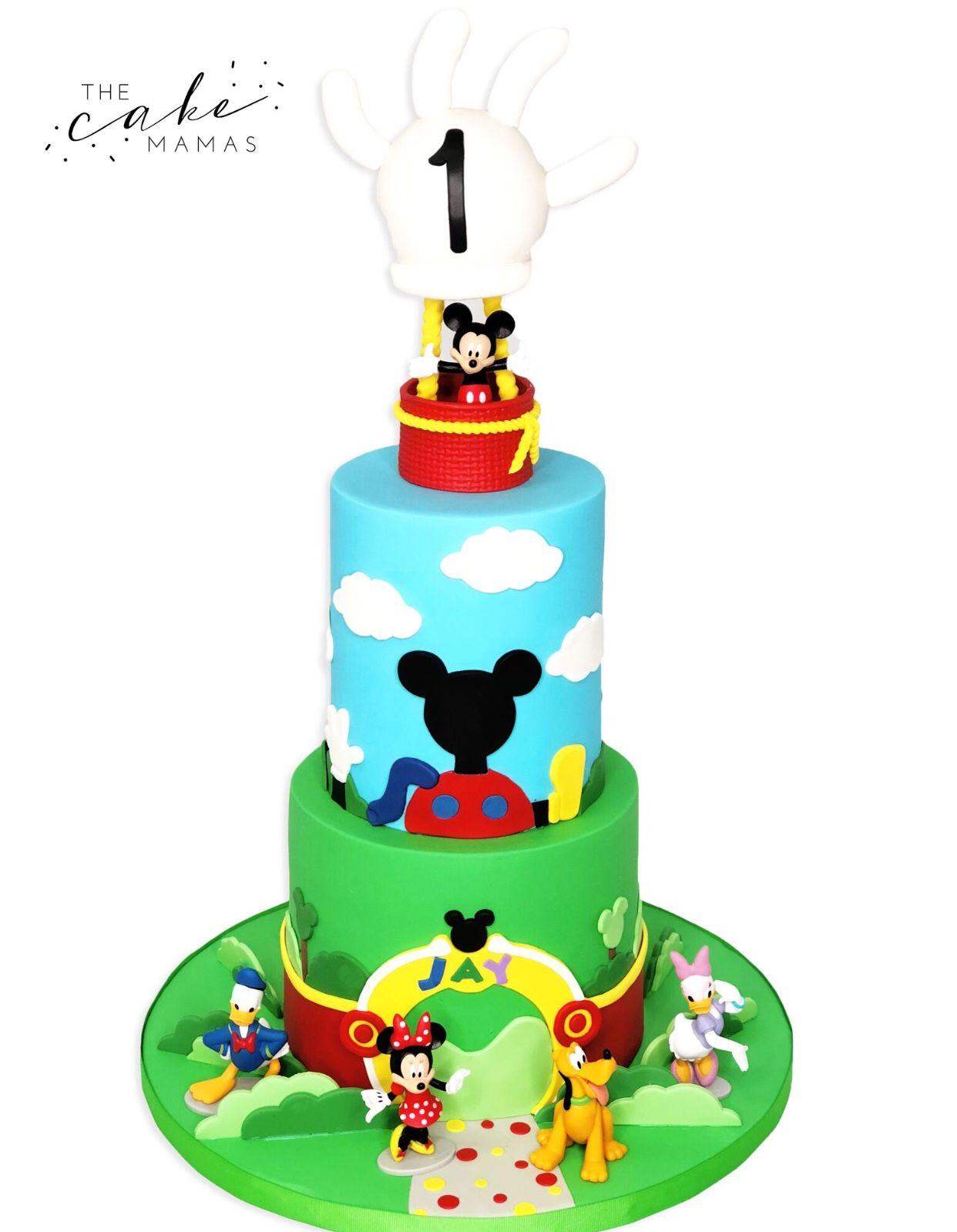 Mickey Mouse Clubhouse 1st Birthday Cake Call Or Email To Order