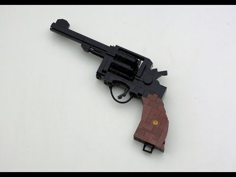 Tutorial: How to Make A Lego Pistol Easy and Simple - YouTube | Lego ...