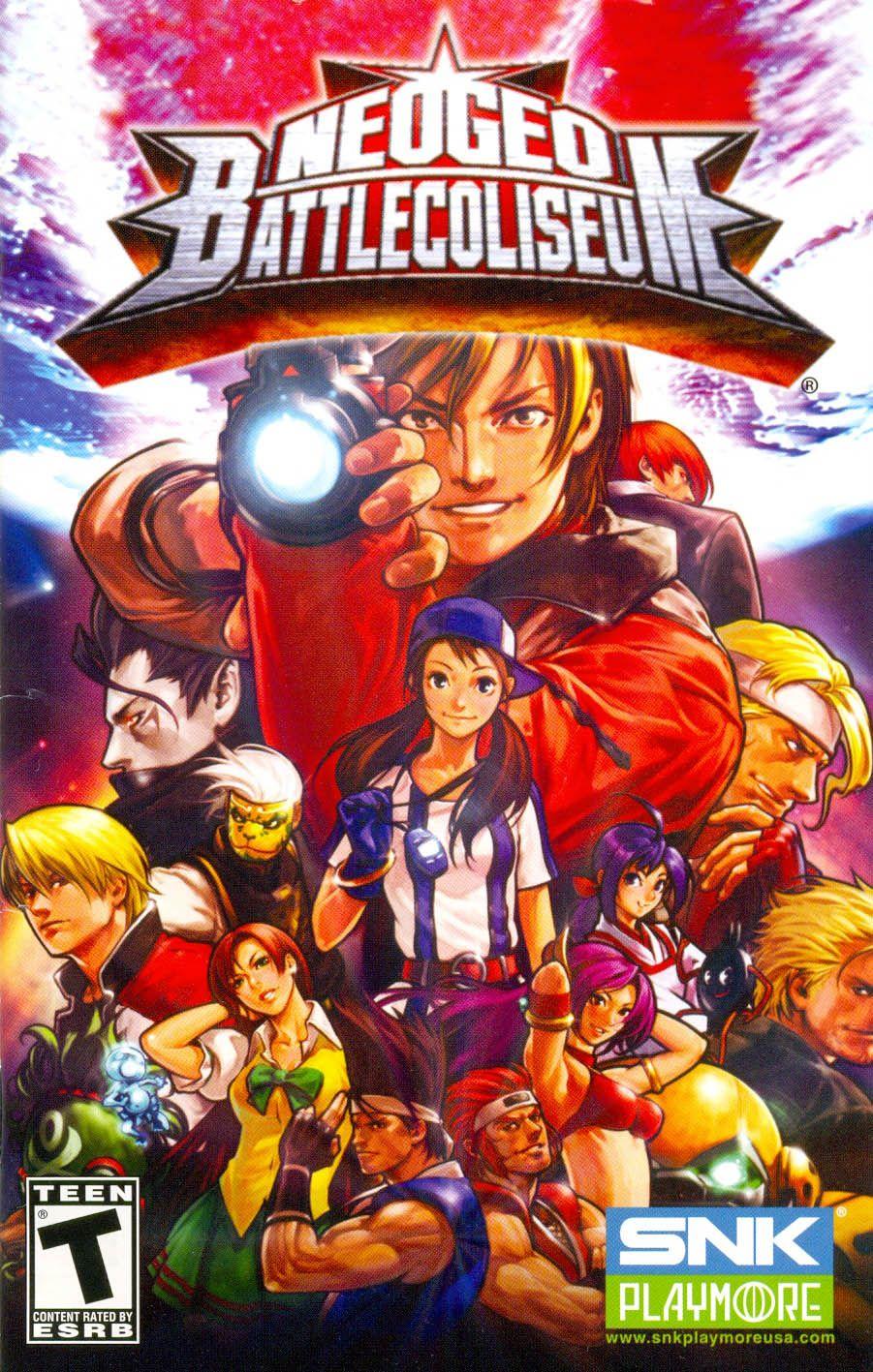Neo Geo Battle Coliseum Lutador de rua, Lutador, Jogos