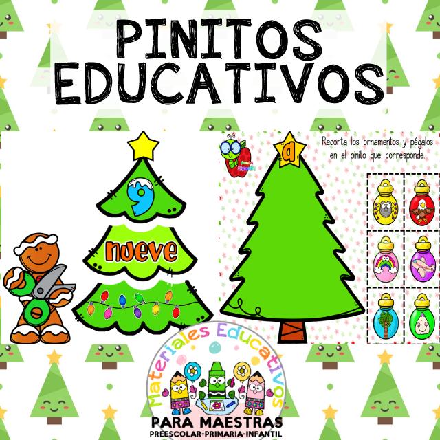 Fichas De Navidad Para Aprender Las Vocales Y Los Números Material Educativo Actividades De Lectura Preescolar Actividades De Forma