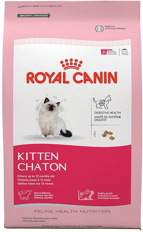Royal Canin Kitten Dry Cat Food 15 Lb Bag Dry Cat Food Cat