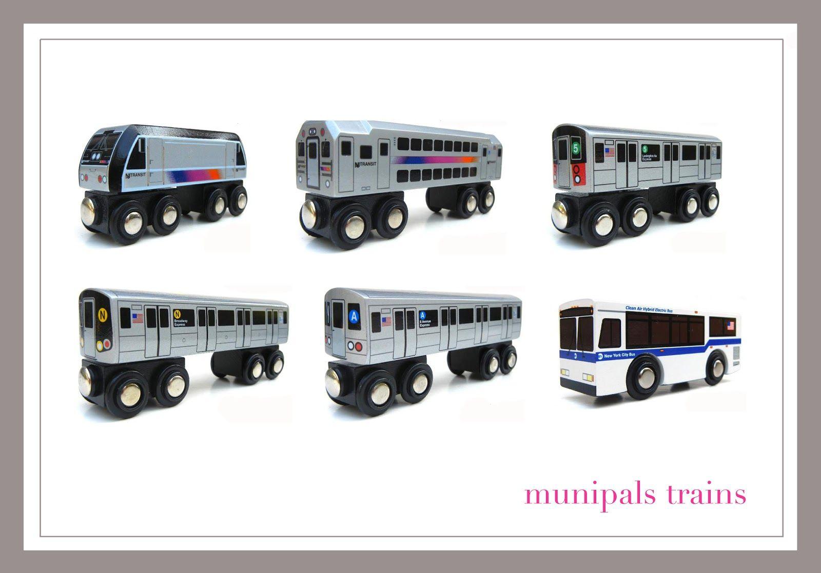 Munipals Trains Nyc Subway Mta Bus And Nj Transit Great Wooden