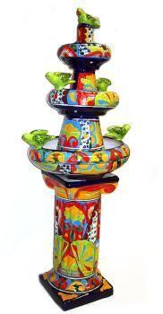Talavera Garden Decoration - Decorative Pottery - Talavera Emporium