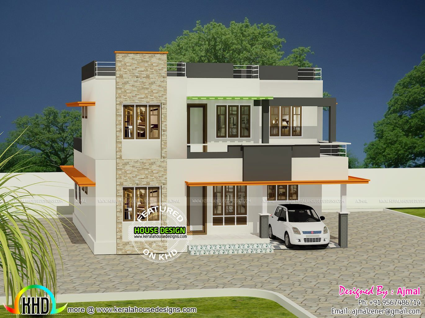 House Design Under 20 Lakhs in 2020 | Bungalow house ...