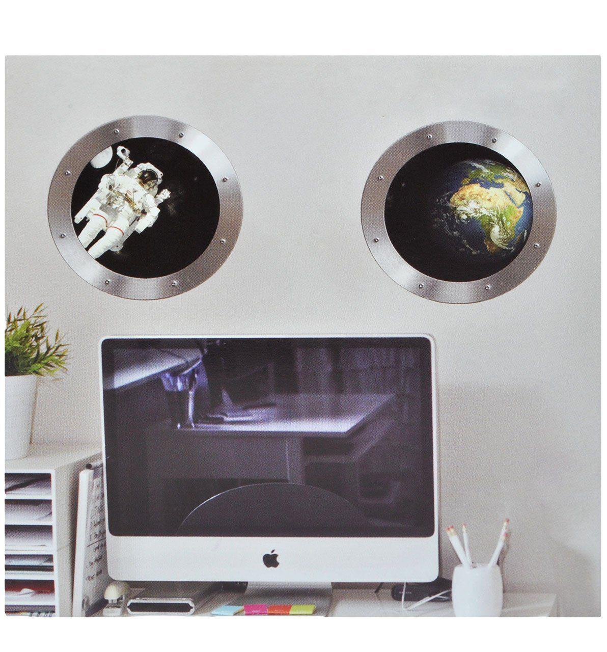 Tolle Wandgestaltung für ein Mottozimmer zum Thema Weltraum ...