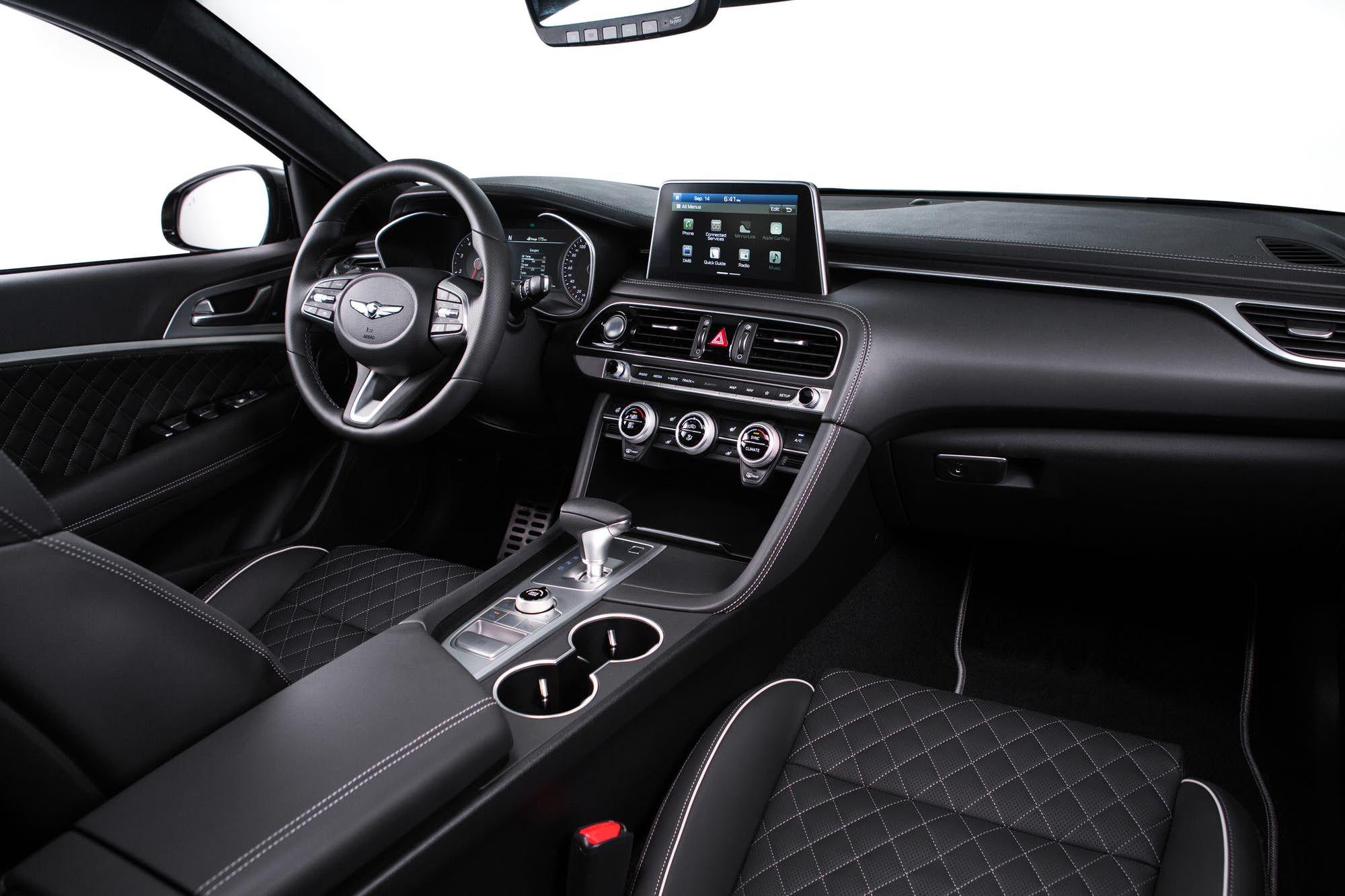 Behind The Wheel Of The Genesis G70 Sedan Hyundai Genesis Coupe Hyundai Genesis Hyundai