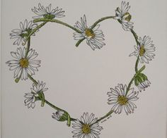 daisy chain drawing google search tattoo picks tattoo picks pinterest daisy chain. Black Bedroom Furniture Sets. Home Design Ideas