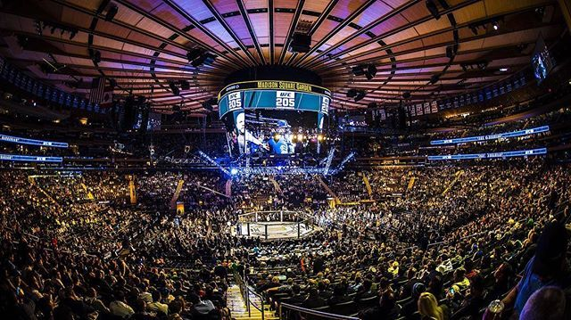 Ufc 205 Was In The Mecca Madison Square Garden In New York City Eiffel Tower Inside Eiffel Tower City
