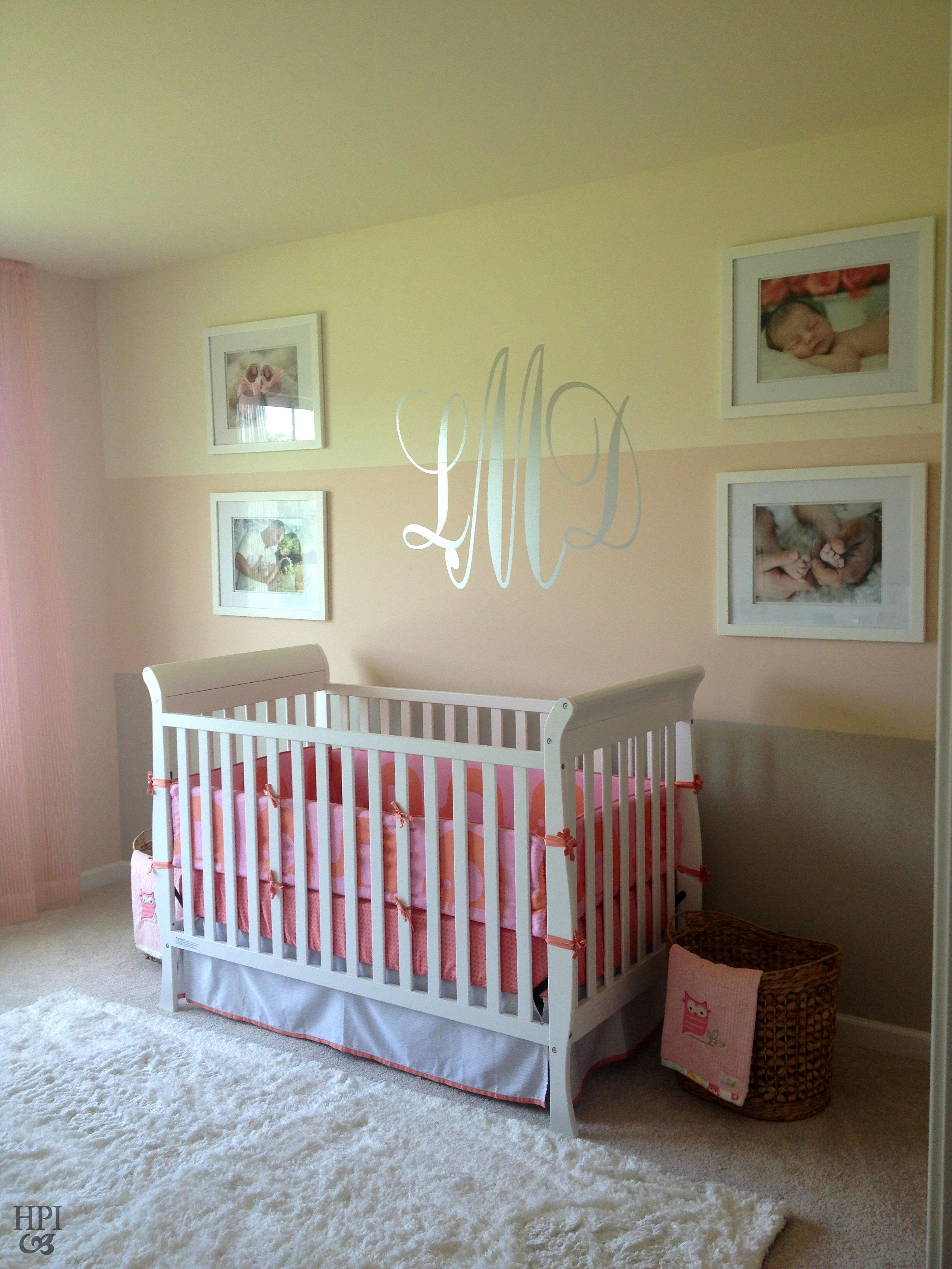 Monogram Decorations For Bedroom Helen Piteo Interiors Themed Room Baby Room Pink And Yellow