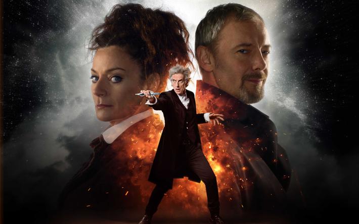 Herunterladen hintergrundbild doctor who, john simm, peter capaldi, der zwölfte doktor, michelle gomez