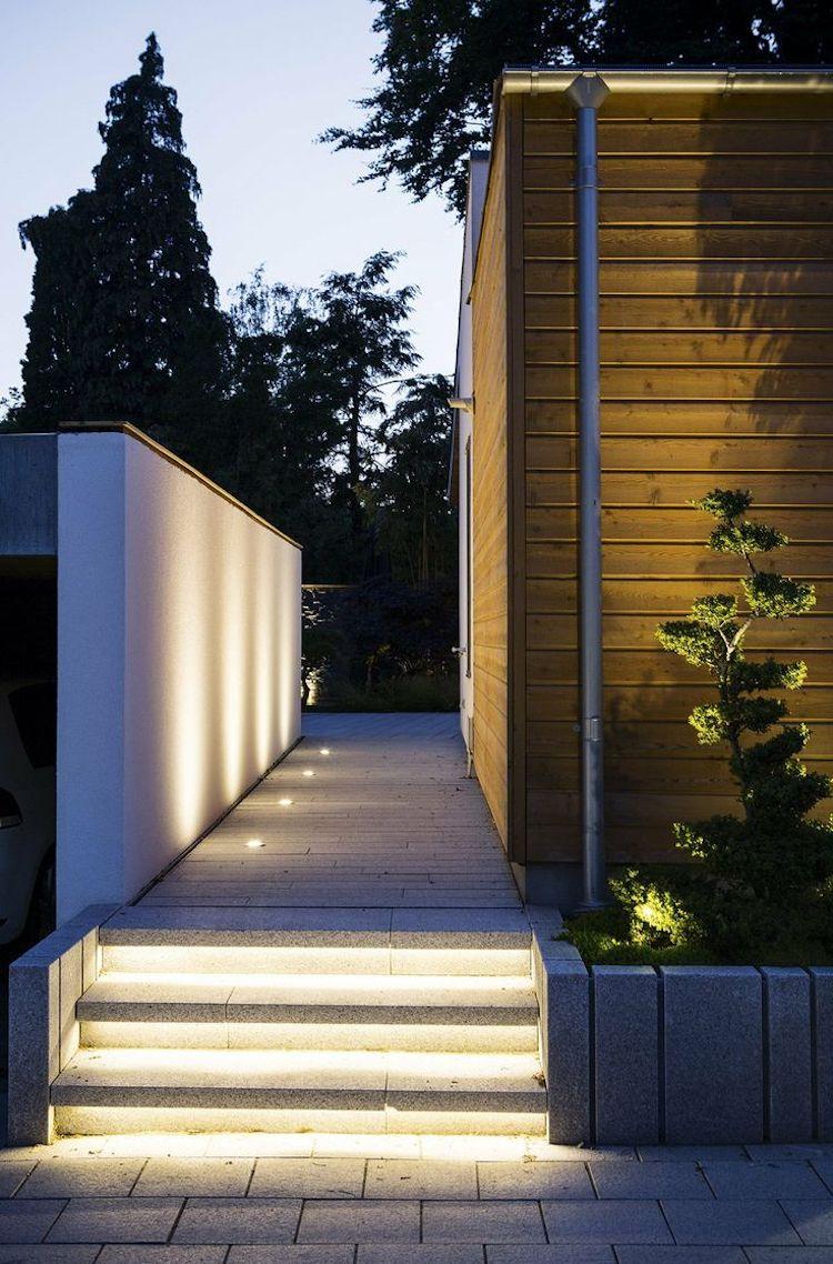 Entzuckend Moderne Und Funktionale Indirekte Terrassenbeleuchtung: LED