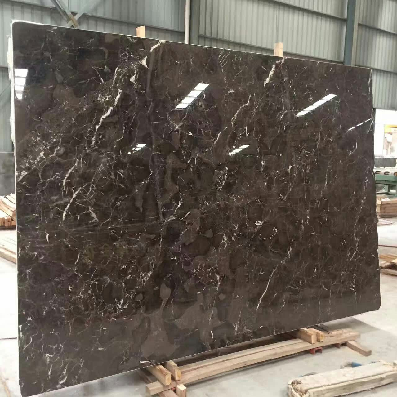 Irish Brown Marmo Cava da Cina 2cm e 3cm lastra Lucidato Piastrella per rivestimento e pavimento  Richiesto ora inquiry@morestone.net