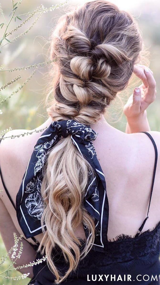 The bow braid h a i r pinterest bow braid hair style and long