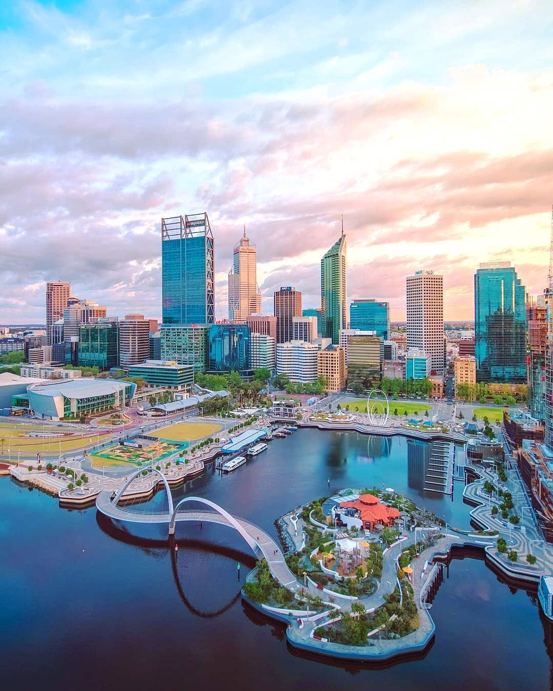 Perth Australia S Sunniest Capital City Just A Place To Visit