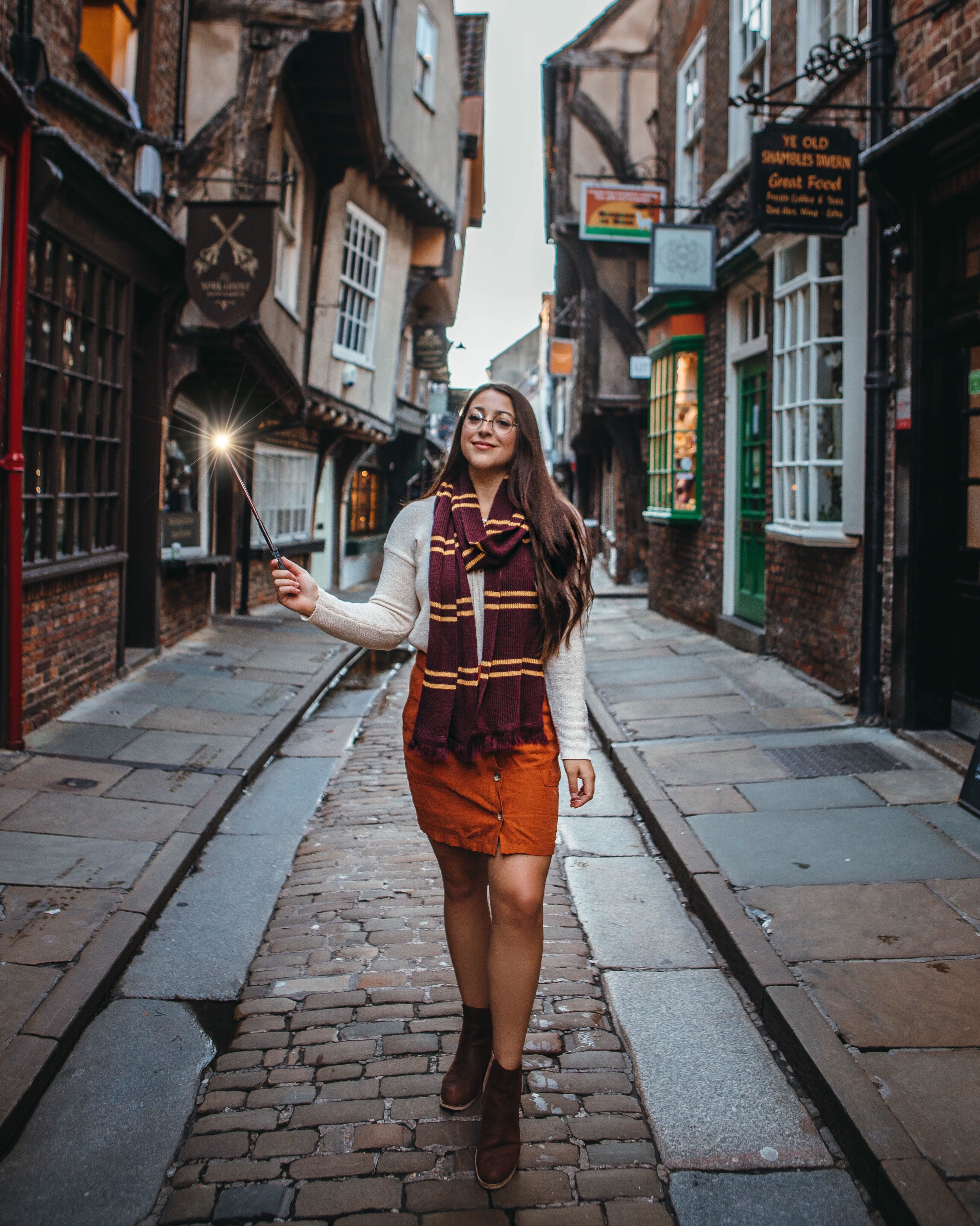 The Real Life Diagon Alley Harry Potter Outfits Diagon Alley Harry Potter Cosplay